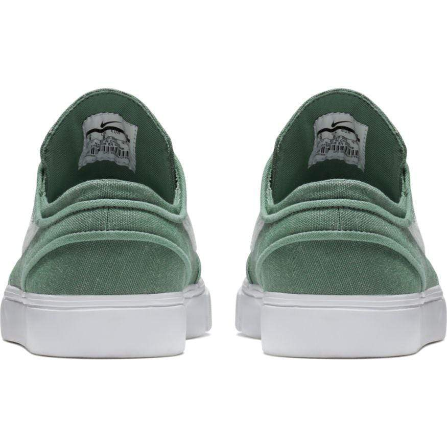 49aabf9e1ba0 Nike SB Mens Zoom Stefan Janoski Canvas Deconstructed Clay Green Barely  Grey Menta Pro Purple -. Images   1   2   3 ...