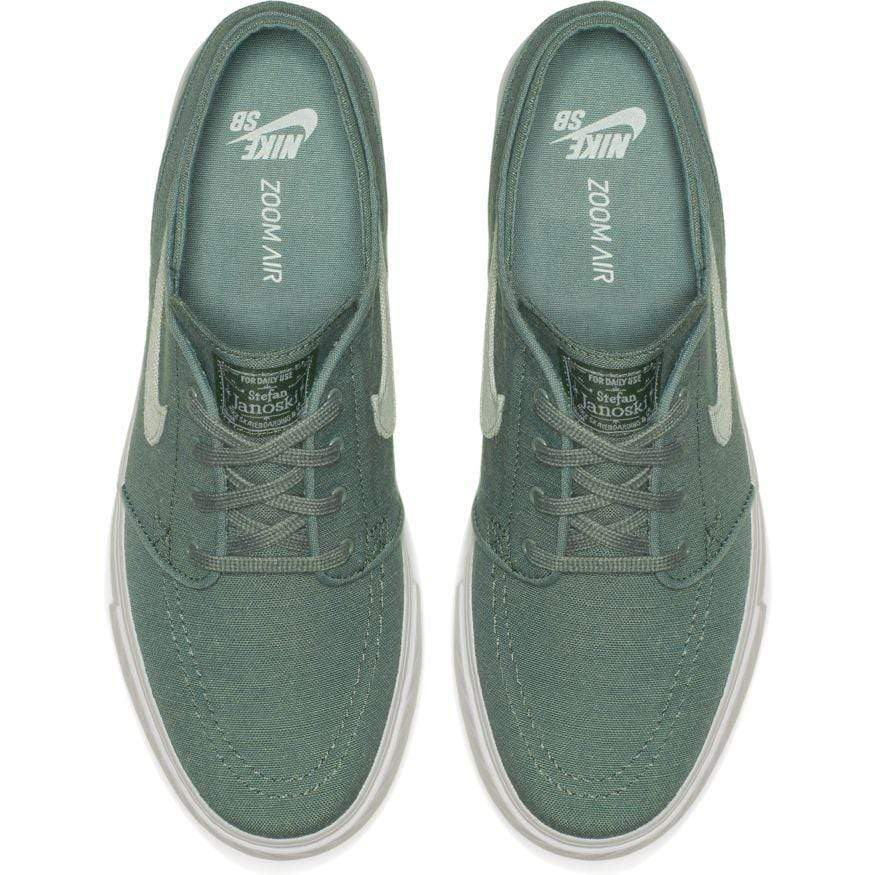 610b34935a75 Nike SB Mens Zoom Stefan Janoski Canvas Deconstructed Clay Green Barely  Grey Menta Pro Purple -. Images   1   2   3   4   5 ...
