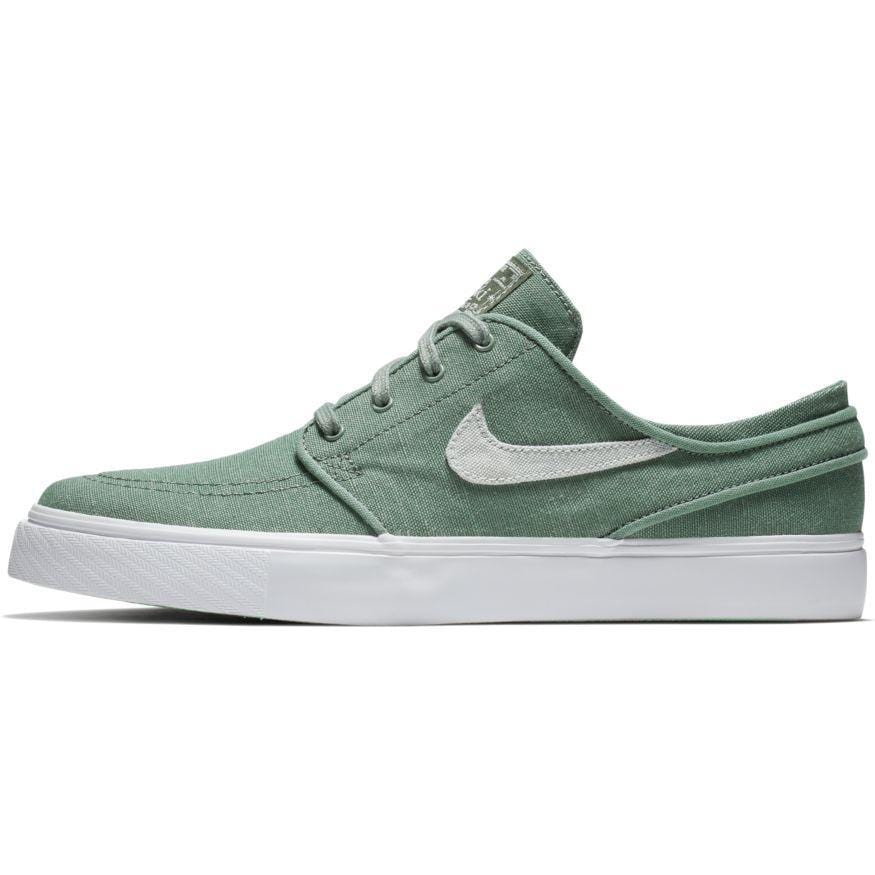 cf7fa4fc19ef Nike SB Mens Zoom Stefan Janoski Canvas Deconstructed Clay Green Barely  Grey Menta Pro Purple -. Images   1   2   3   4   5   6 ...