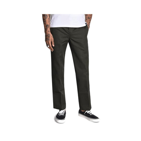 Dickies WP873 Slim Straight Fit Pant Olive Green - 50-50 Skate Shop