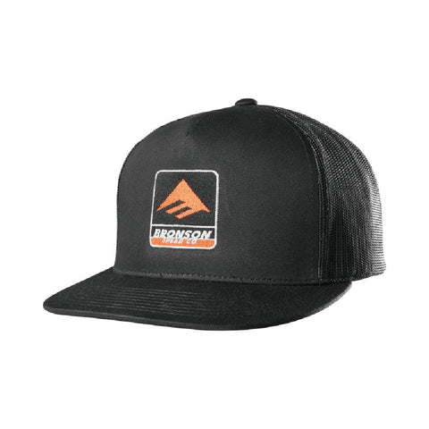 Emerica x Bronson Trucker Hat Black - 50-50 Skate Shop