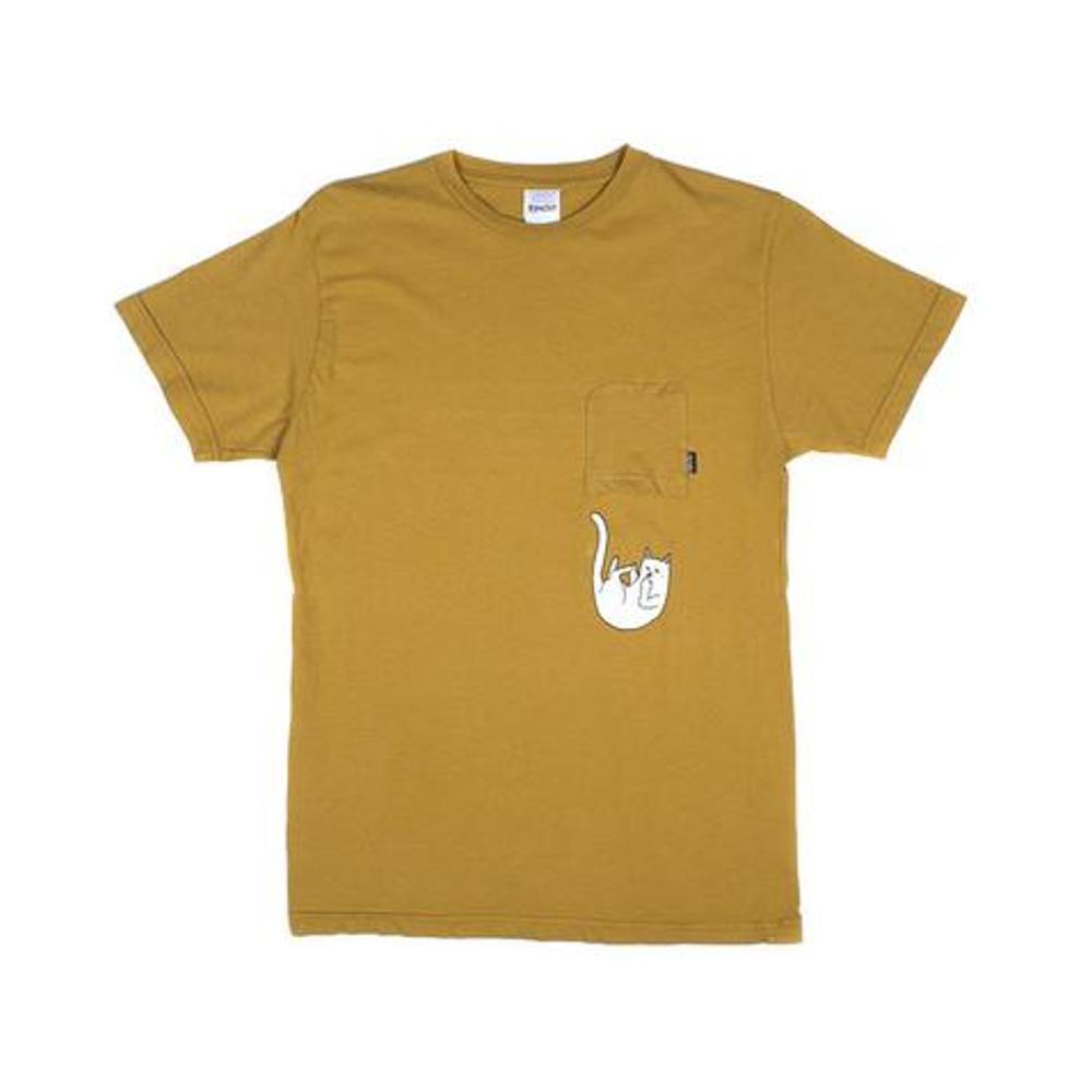 Ripndip Falling Nermal Pocket Tee Burnt Orange - 50-50 Skate Shop