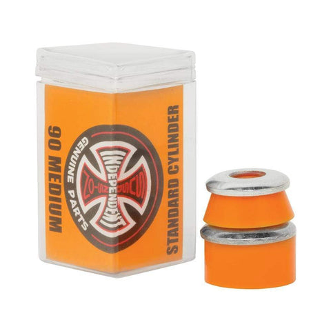 Independent Standard Cylinder Cushions 90a Medium 4 Pack Orange - 50-50 Skate Shop