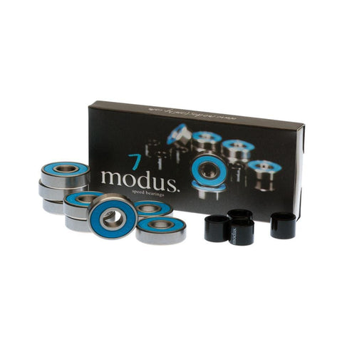 Modus Abec 7 Skateboard Bearings 8 Pack - 50-50 Skate Shop