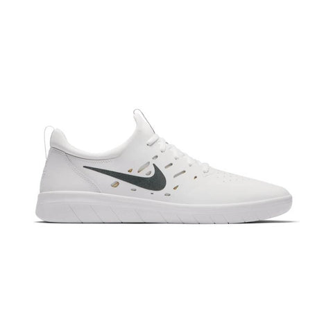 Nike SB Nyjah Free Summit White Anthracite Lemon Wash-50-50 Skate Shop