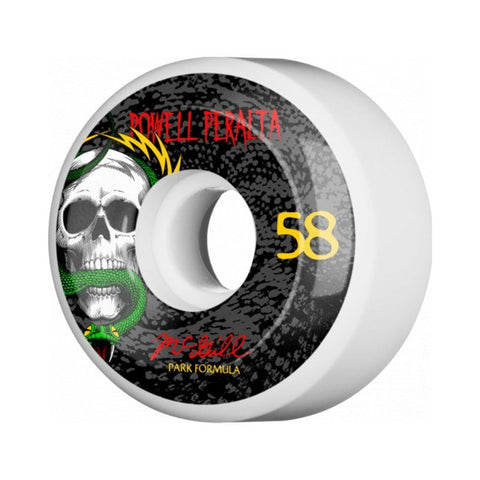 Powell Peralta McGill Snake SPF White 58mm x 103A-50-50 Skate Shop