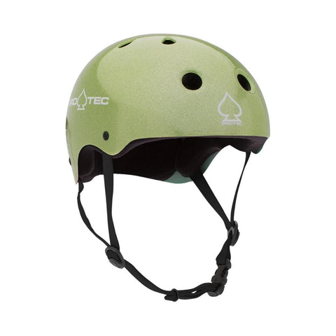 Pro Tec Classic Certified Junior Skate Bike Helmet Green Flake-50-50 Skate Shop