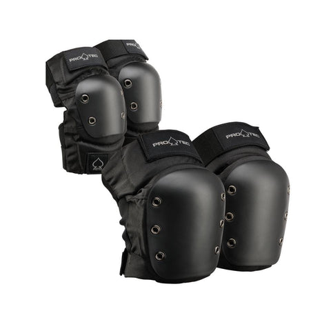 Pro Tec Street Skate Knee Elbow Pad Set - 50-50 Skate Shop