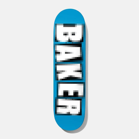 Baker Skateboard Deck Reynolds Brand Name Pixelated 7.75 - 50-50 Skate Shop