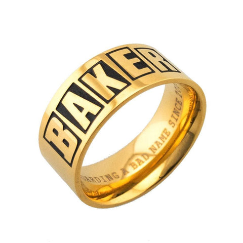 Baker Ring Brand Logo - 50-50 Skate Shop