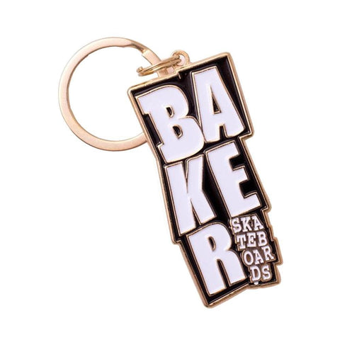 Baker Keychain - Stacked-50-50 Skate Shop