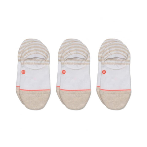 Stance Womens Invisible Socks 3 Pack White-50-50 Skate Shop