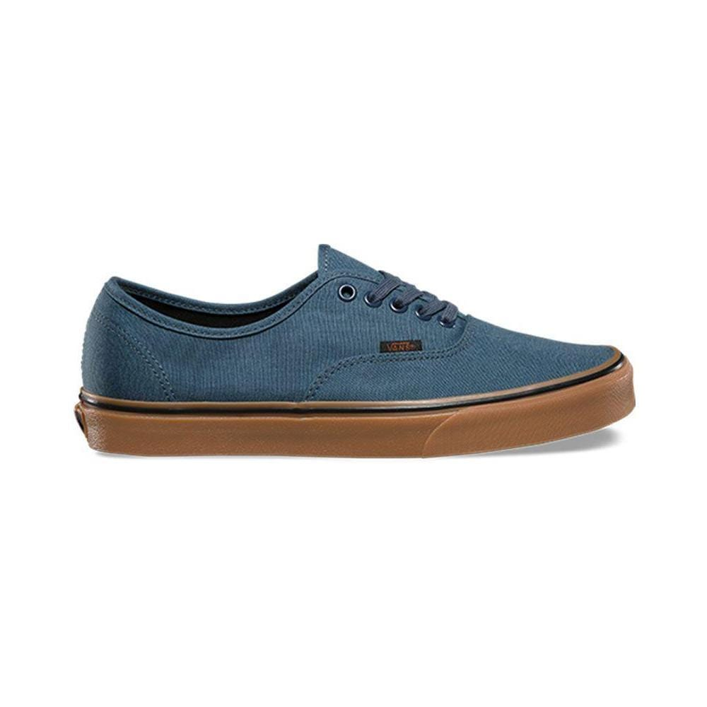Vans Authentic (Gum) Dark Slate Black - 50-50 Skate Shop