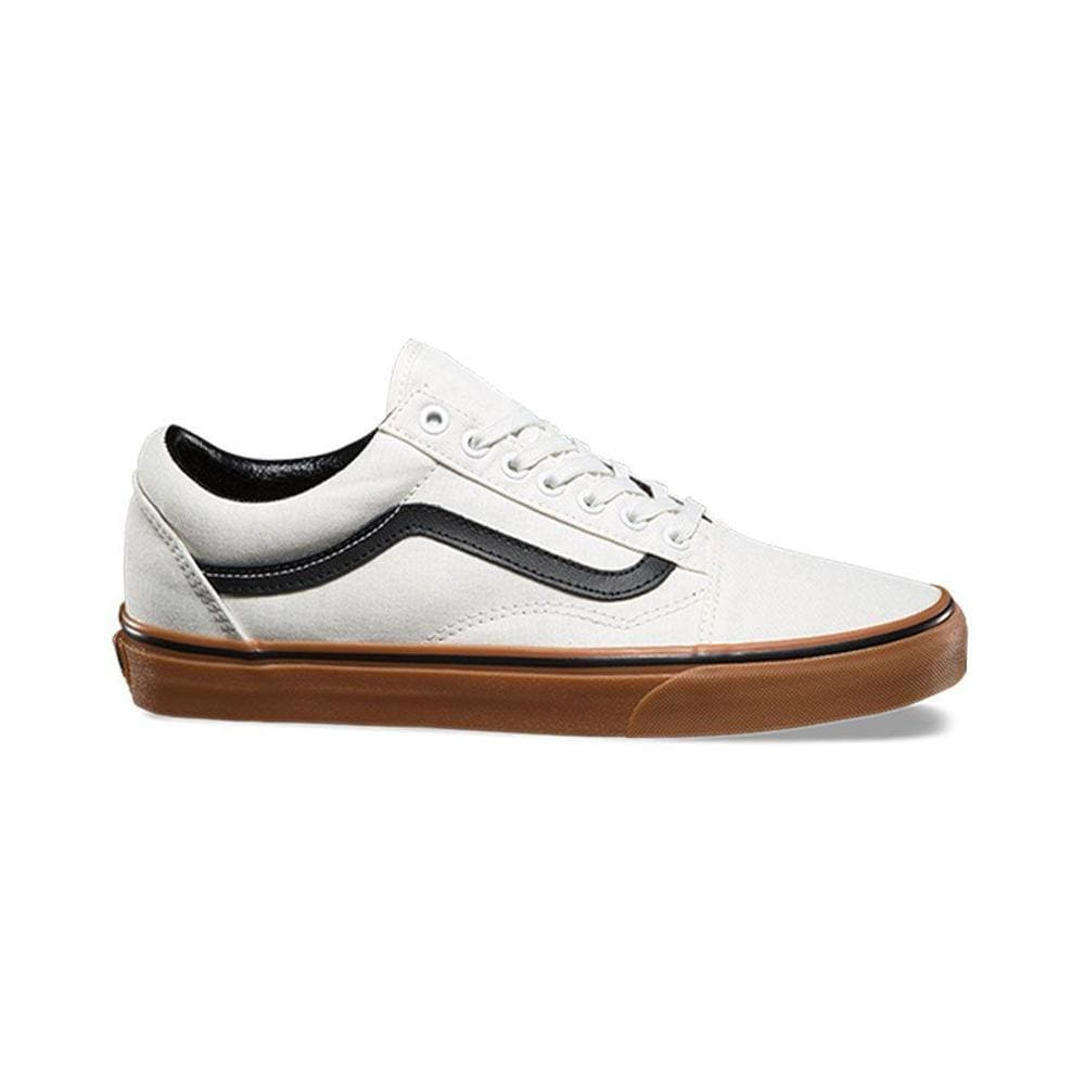 Vans Old Skool (Gum) Blanc De Blanc Black - 50-50 Skate Shop