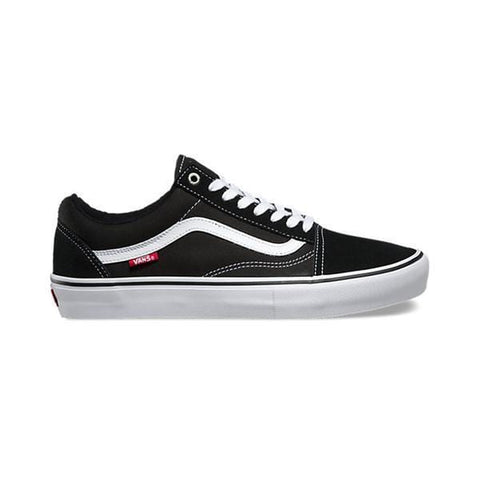 Vans Old Skool Pro Black White - 50-50 Skate Shop