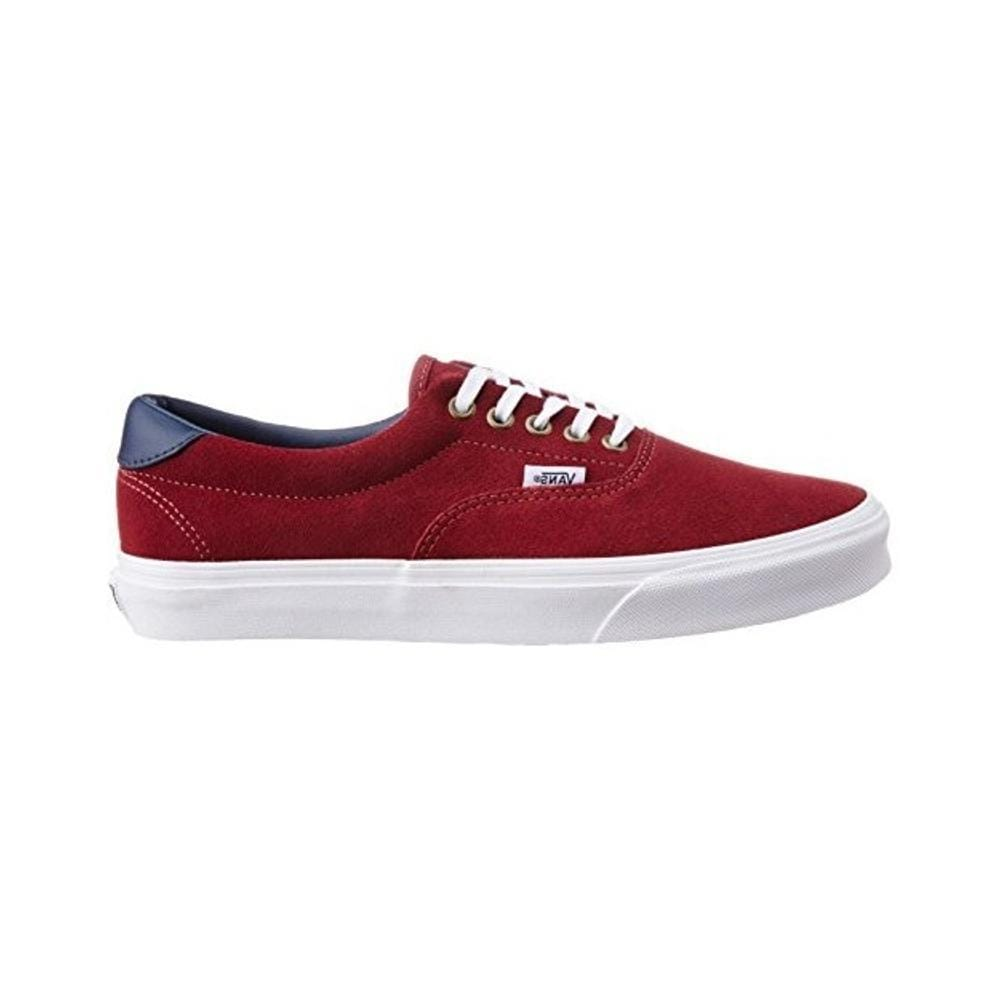 Vans Era 59 (Suede Leather) Oxblood Red-50-50 Skate Shop