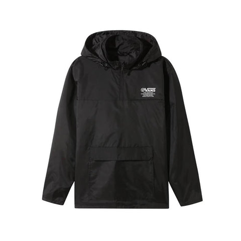 Vans Anorak Jacket Distort Type Black