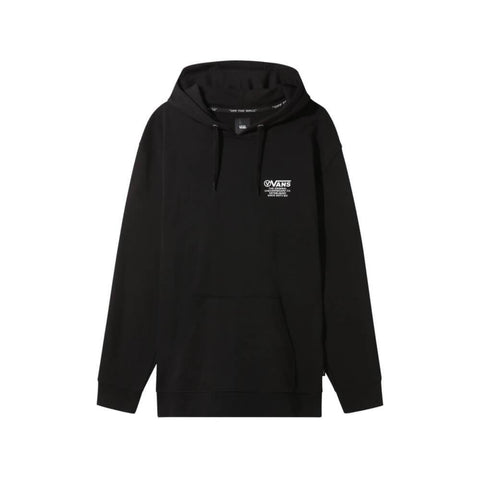 Vans Hoodie Distort Type Pull Over Black-50-50 Skate Shop
