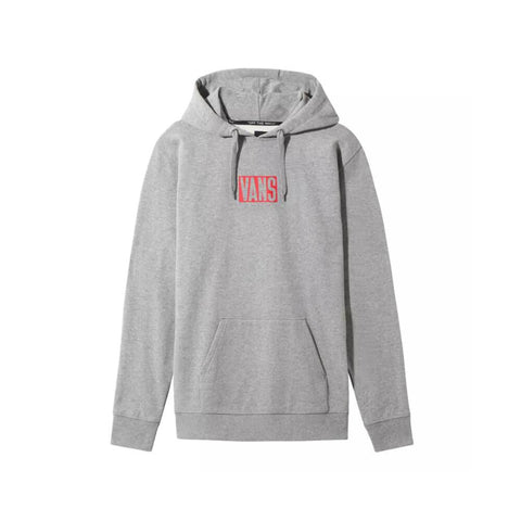 Vans Hoodie New Stax Pull Over Cement Heather - 50-50 Skate Shop