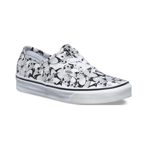 Vans Authentic (Butterfly) True White Black-50-50 Skate Shop