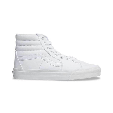 Vans Sk8 Hi True White-50-50 Skate Shop