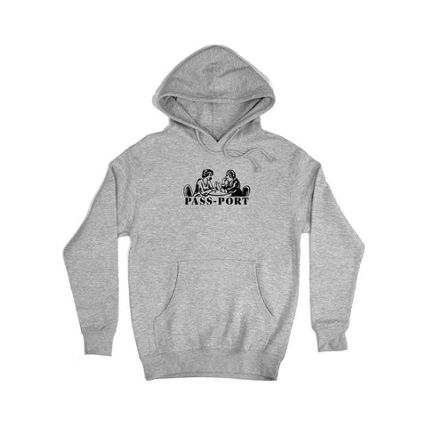 Passport Romantics Hoodie Heather Grey