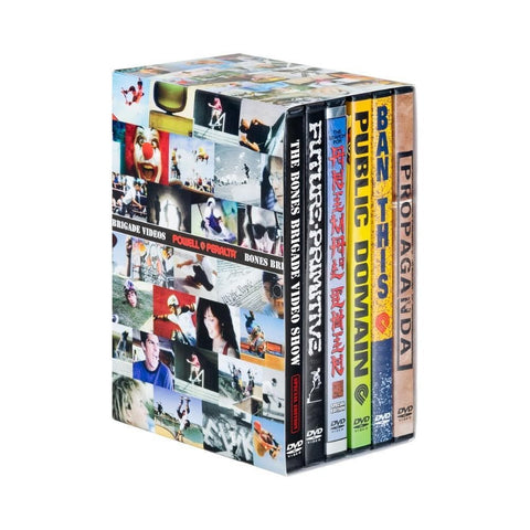 Powell Peralta Bones Brigade DVDs Box Set 1-6 (6 Pack) - 50-50 Skate Shop