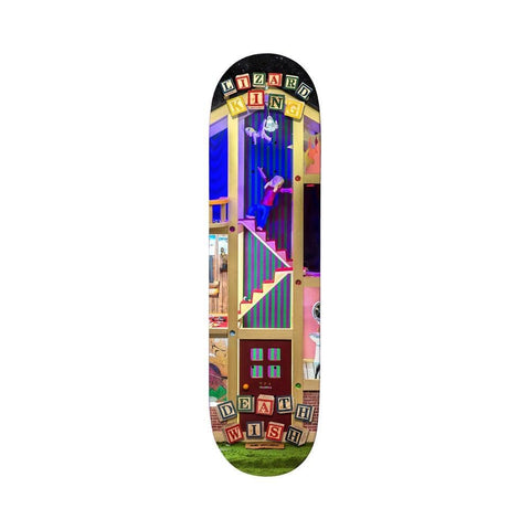 "Deathwish Skateboard Deck Lizard King Deathwish House 8.0"" x 31.5"" - 50-50 Skate Shop"