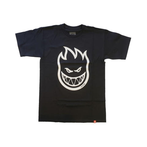 Spitfire Toddler Tee Bighead Black White-50-50 Skate Shop