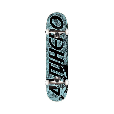 "Anti Hero Skateboard Complete Highlander Hero 8.25"" 31.69"" Blue - 50-50 Skate Shop"