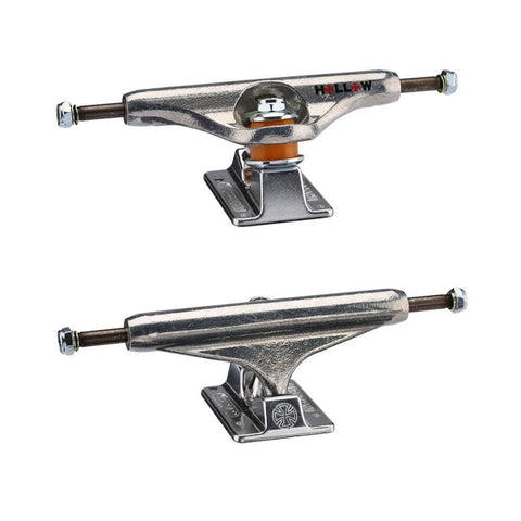 Independent Forged Hollow Silver Trucks 144mm Stage 11