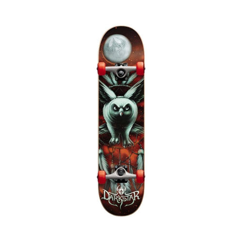 "(DAMAGED) Darkstar Complete Night Owl Youth 7.375"" x 29.75"" MID-50-50 Skate Shop"