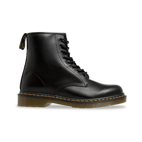Dr Martens 1460z DMC 8 Up Smooth Black - 50-50 Skate Shop