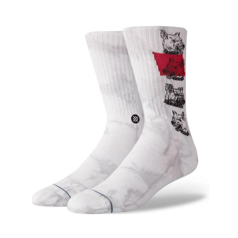 Stance Mens Respect The Elders Socks White-50-50 Skate Shop