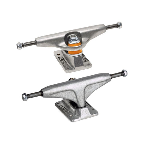 Tracker Skateboard Trucks Axis 161mm (9 Inch) Silver (1 Pair)-50-50 Skate Shop