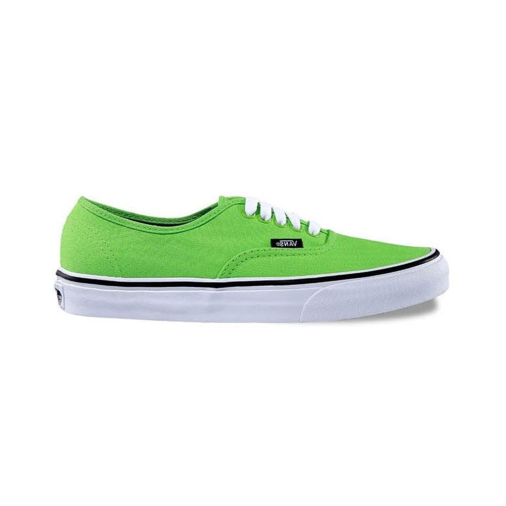 Vans Authentic Green Flash Black - 50-50 Skate Shop