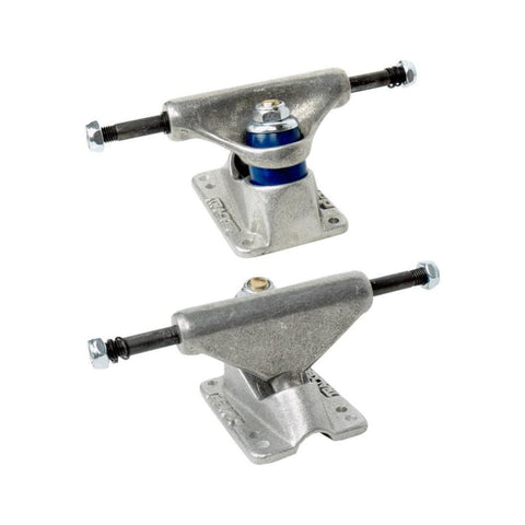Tracker Skateboard Trucks Midtrack Dart 85mm (6 Inch) Silver (1 Pair)-50-50 Skate Shop