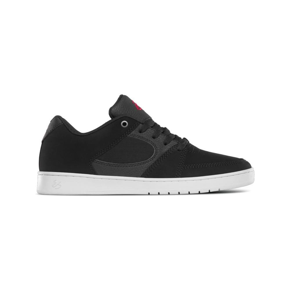 eS Mens Accel Slim Black White Red