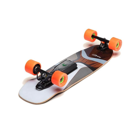 "Unlimited x Loaded Electric Skateboard Complete Omakase Canyon 10"" x 33"" with Solo Kit-50-50 Skate Shop"