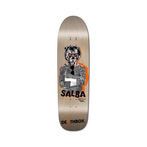 "H-Street Skateboard Deck Steve Alba Guest Art Model 9"" x 32.25"" Natural-50-50 Skate Shop"