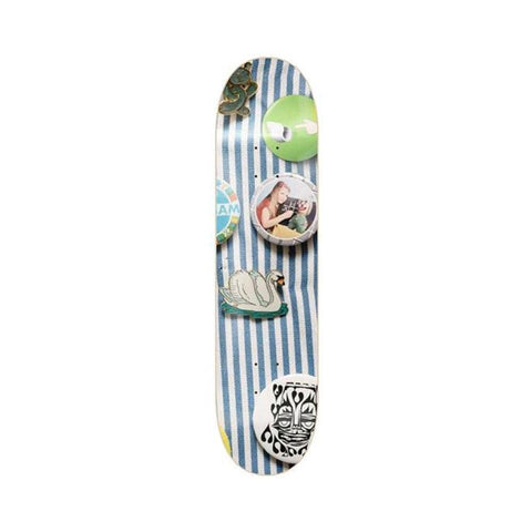 "Isle Skateboards Skateboard Deck Enamel Series Nick Jensen 8.375""-50-50 Skate Shop"