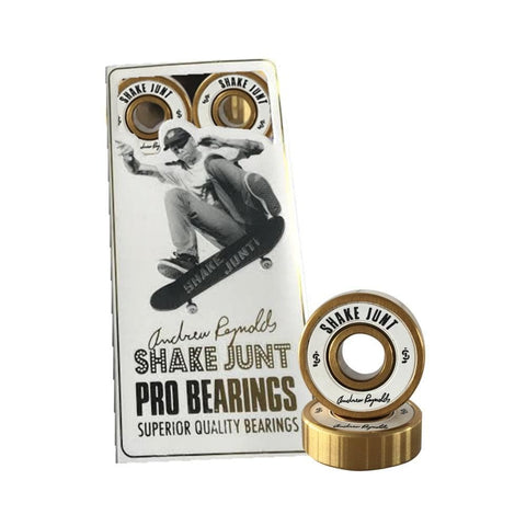 Shake Junt Skateboard Bearings - Reynolds Pro - 50-50 Skate Shop