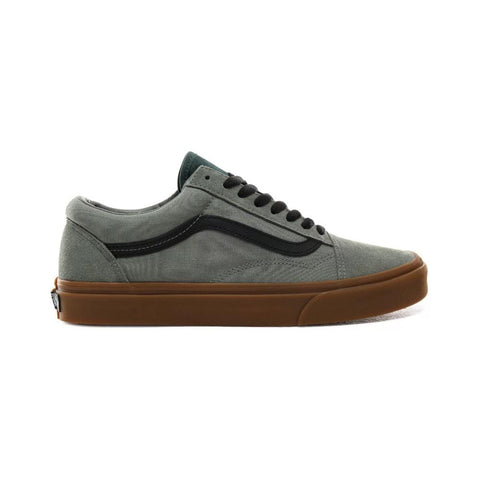 Vans Old Skool (Gum) Shadow Trekking Green-50-50 Skate Shop