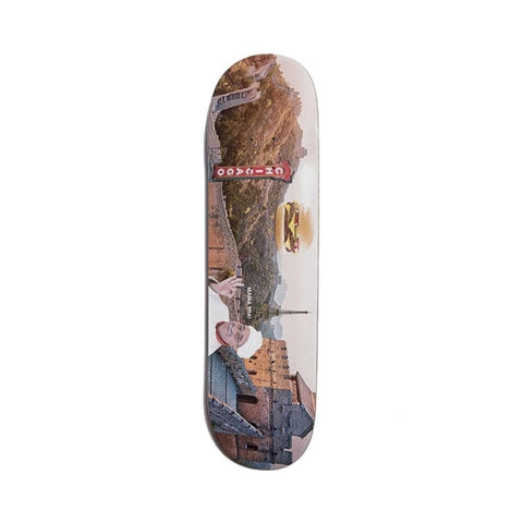 "Alltimers Skateboard Skateboard Deck Confusing Tours Great Wall 8.25"" - 50-50 Skate Shop"