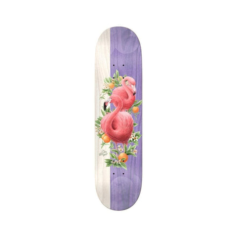 "Real Skateboard Deck Natural Domain II Zion Wright 8.25"" x 31.89""-50-50 Skate Shop"