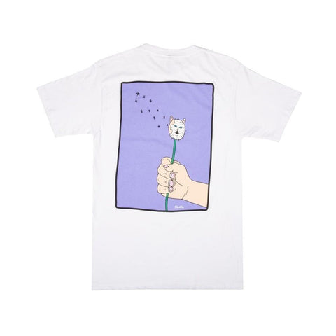Ripndip Blow Me Tee White - 50-50 Skate Shop
