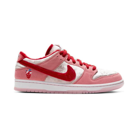 Nike SB Dunk Low Pro Bright Melon Gym Red Med Soft Pink-50-50 Skate Shop