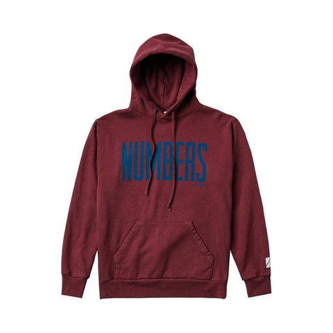 Numbers Edition Upright Fleece Hoodie Port - 50-50 Skate Shop