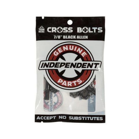 "Independent 7/8"" Allen Skateboard Deck Bolts Hardware-50-50 Skate Shop"