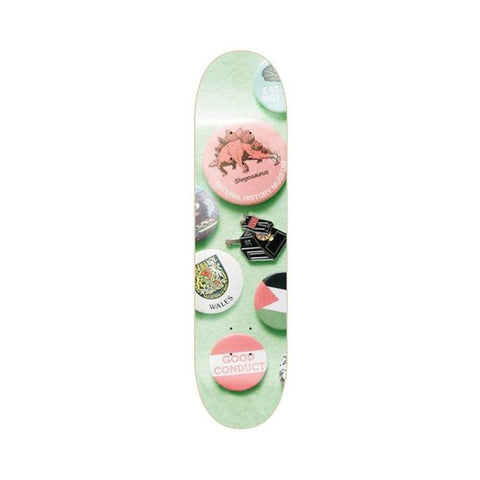 "Isle Skateboards Skateboard Deck Enamel Series Chris Jones 8.25""-50-50 Skate Shop"